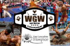 Gravy Wrestling Logo East Lancs Hospice pics