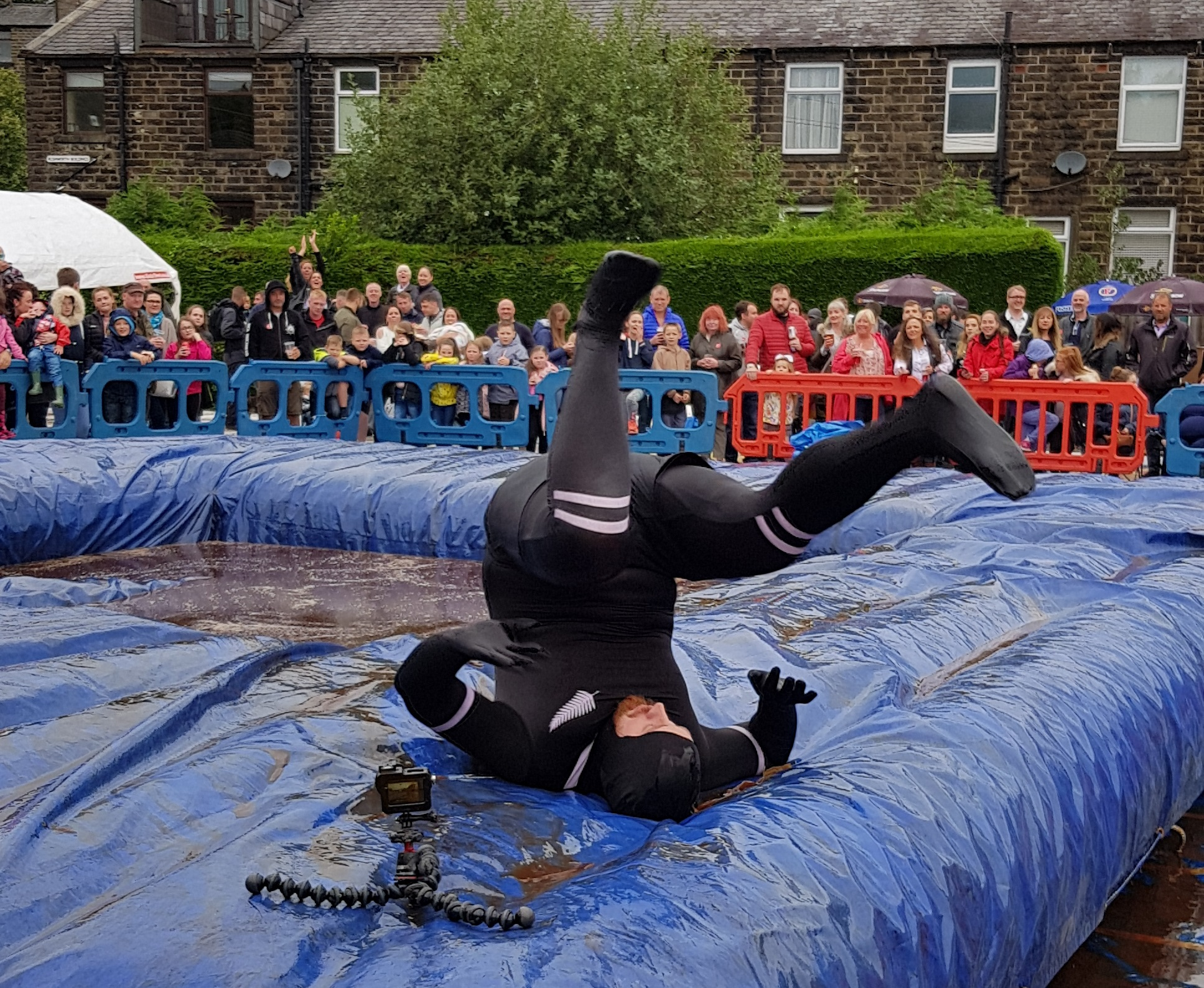 Gravy Wrestling 2018 - All Black Pudding