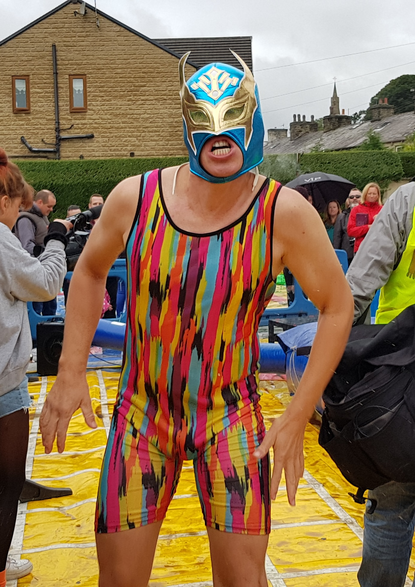 Gravy Wrestling 2018 - Evil Punisher