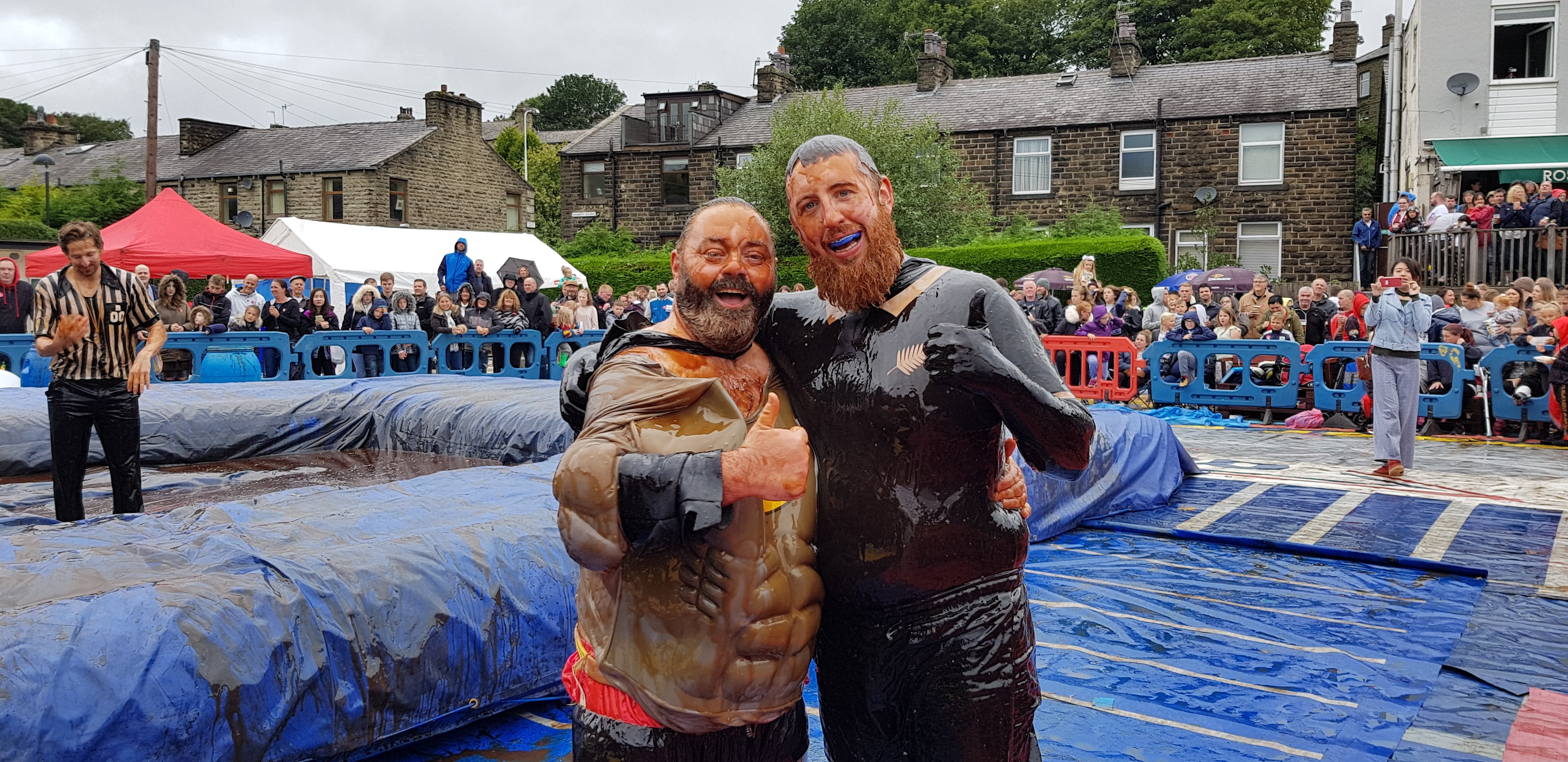Gravy Wrestling 2018 - Fat Man and the All Black Pudding 1