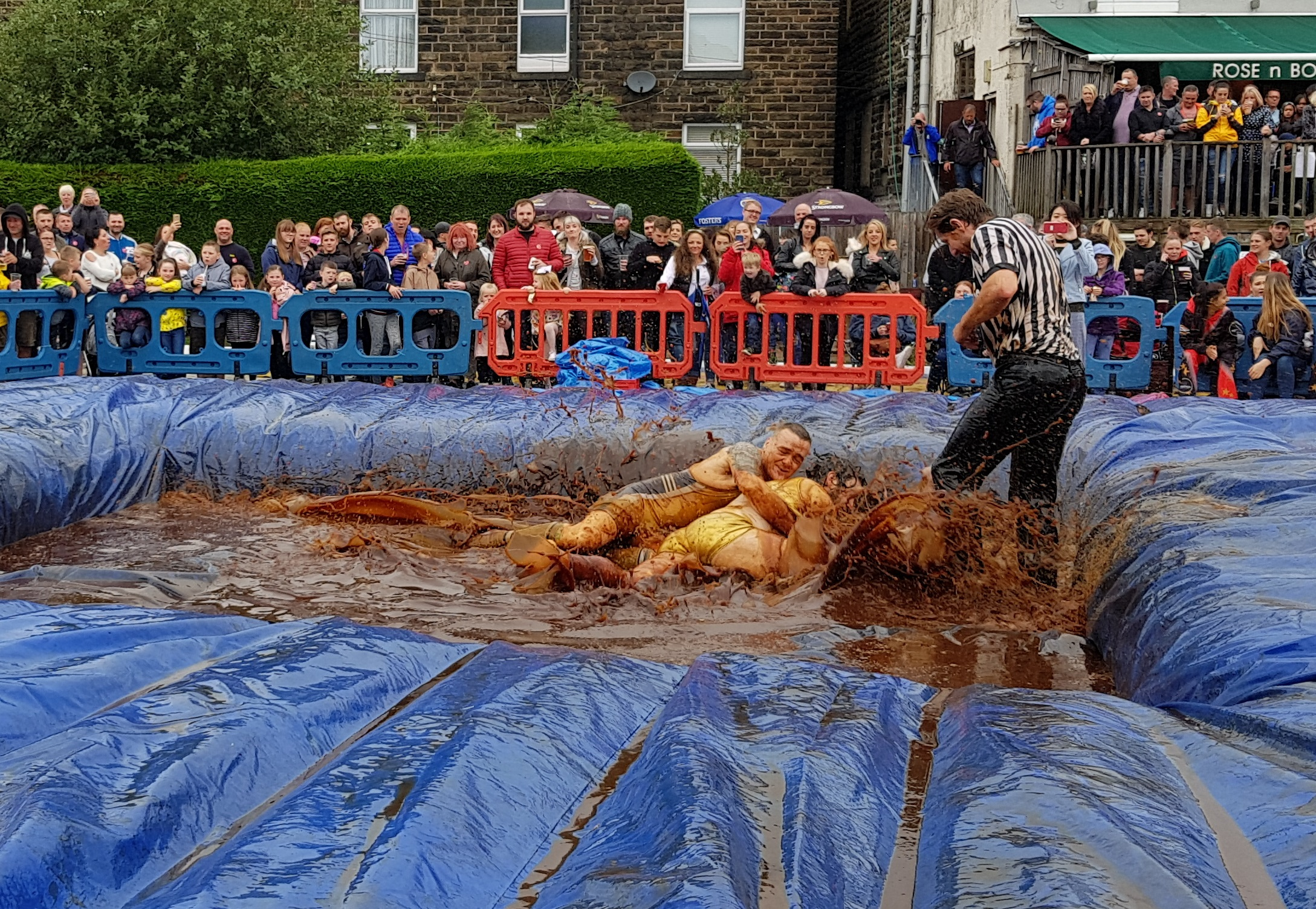 Gravy Wrestling 2018 - Golden Balls and the Bisto Beast 2