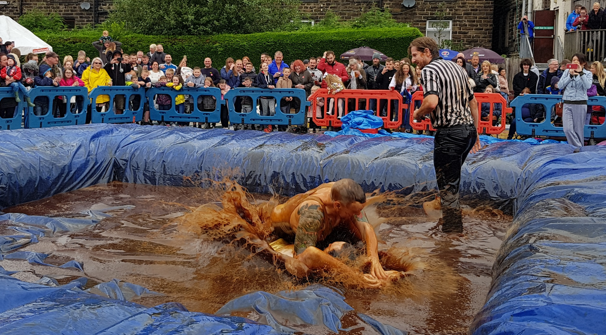 Gravy Wrestling 2018 - Golden Balls and the Bisto Beast 3