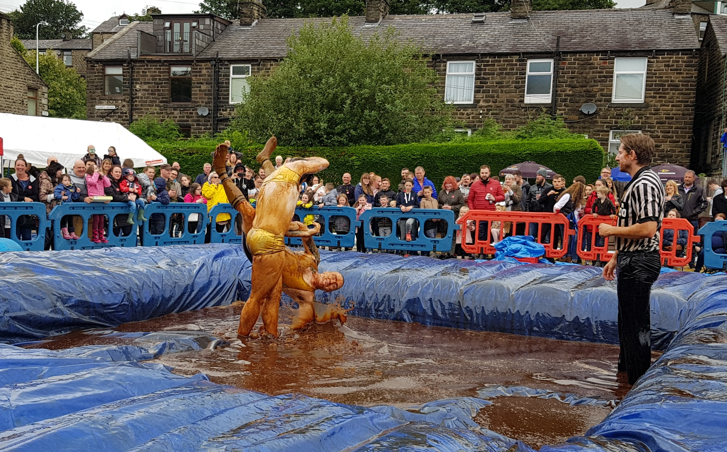 Gravy Wrestling 2018 - Golden Balls and the Bisto Beast 6