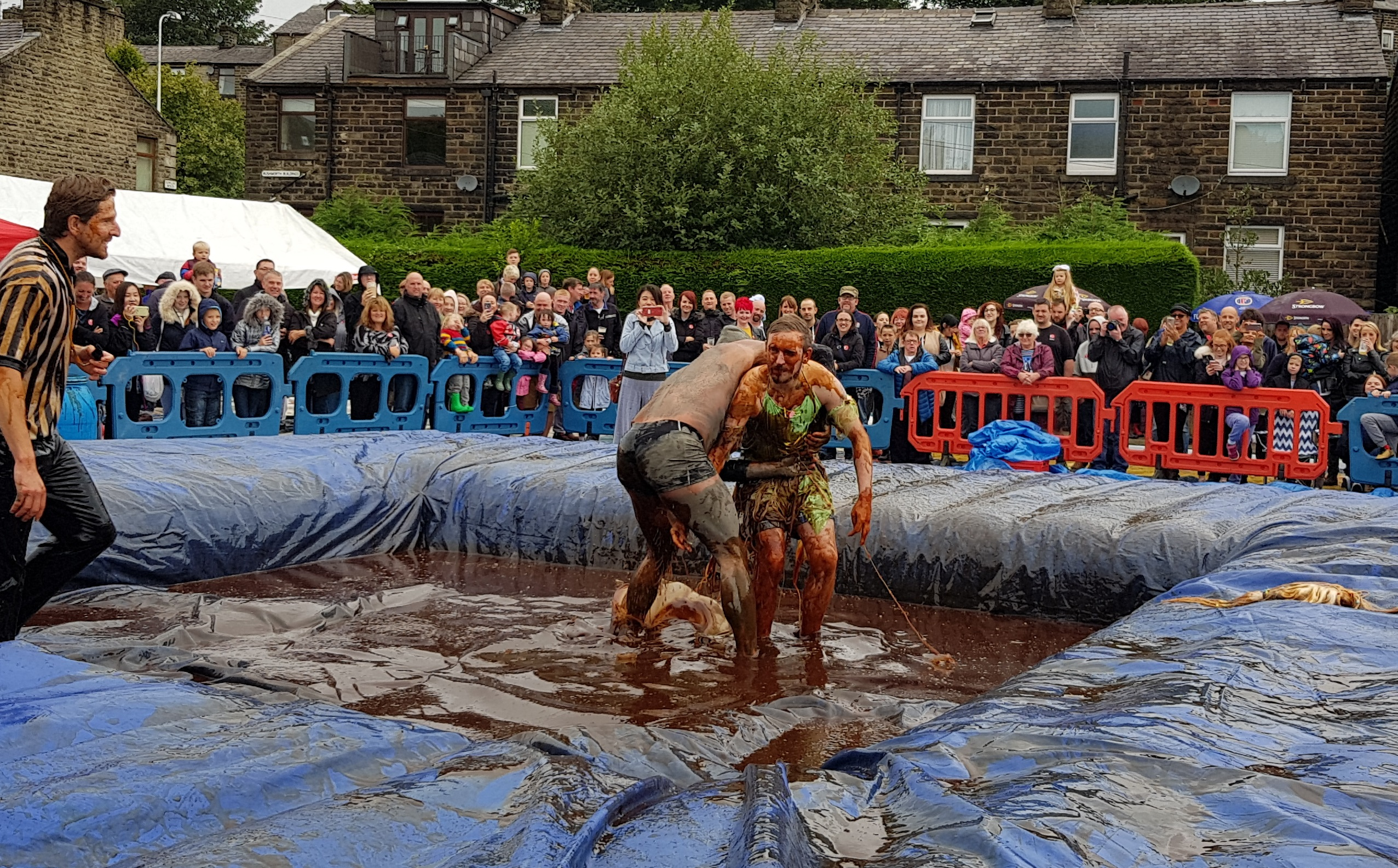 Gravy Wrestling 2018 - Gravy Hairy Fairy Mud Man 1