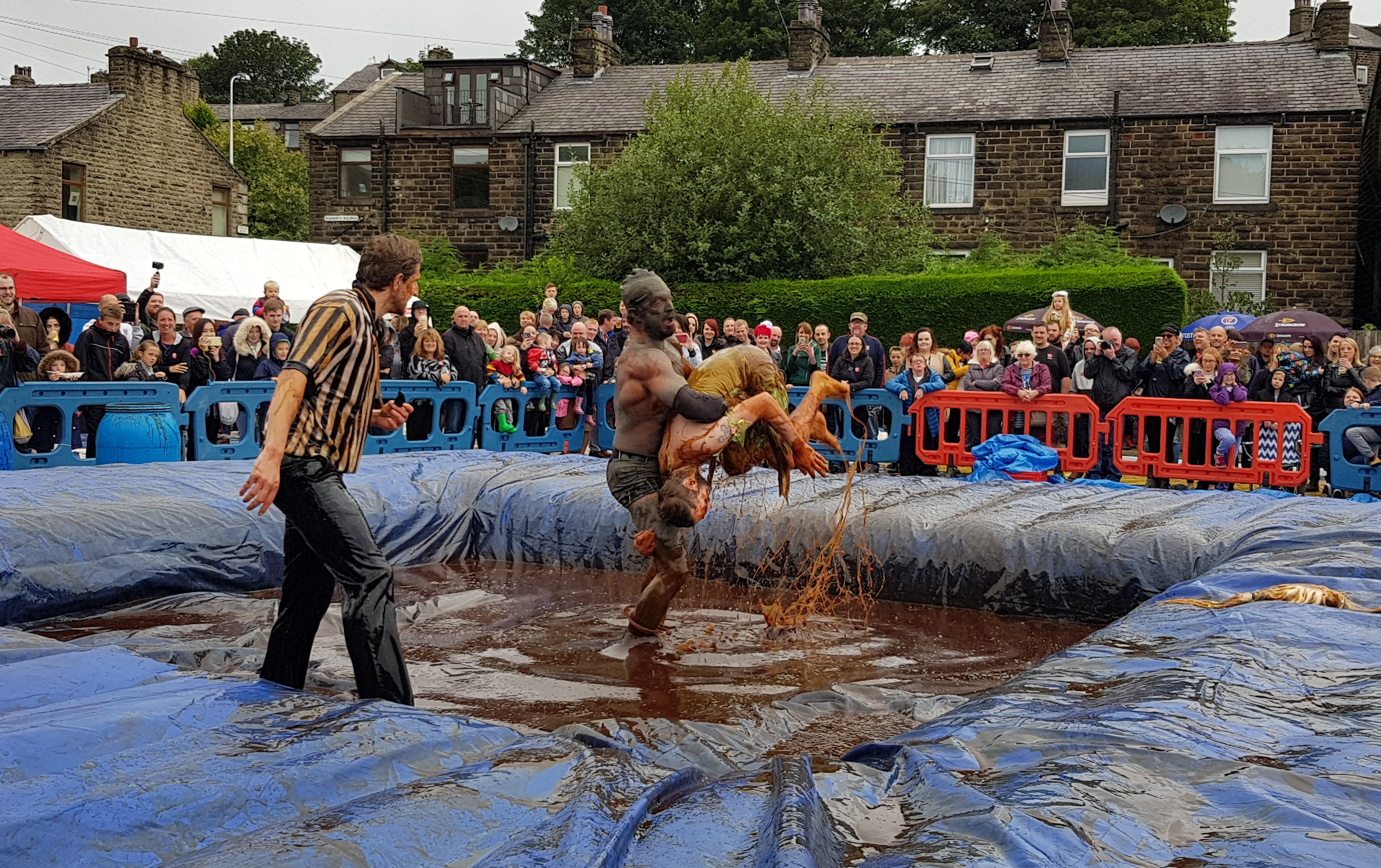 Gravy Wrestling 2018 - Gravy Hairy Fairy Mud Man 2