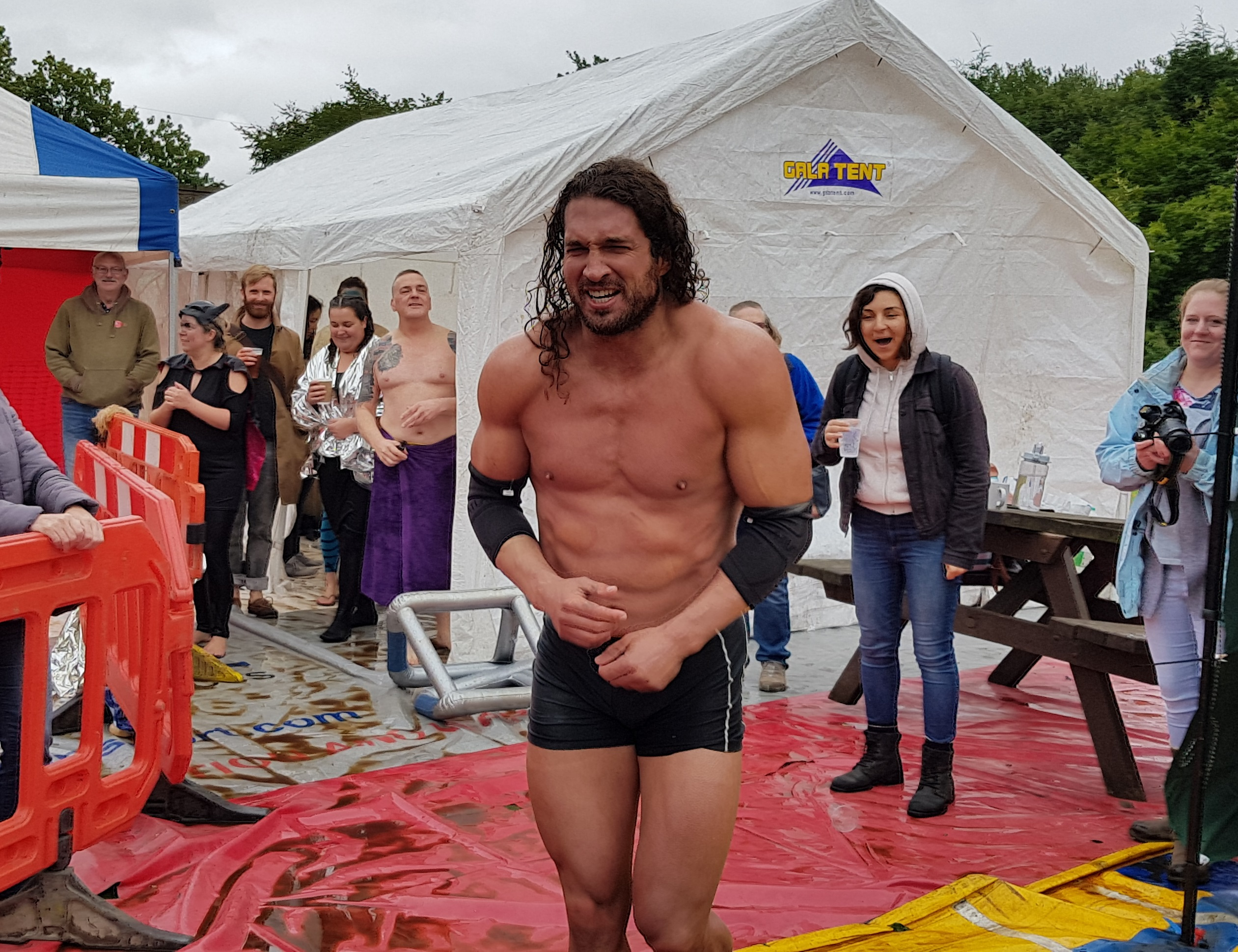 Gravy Wrestling 2018 - Joel Hicks