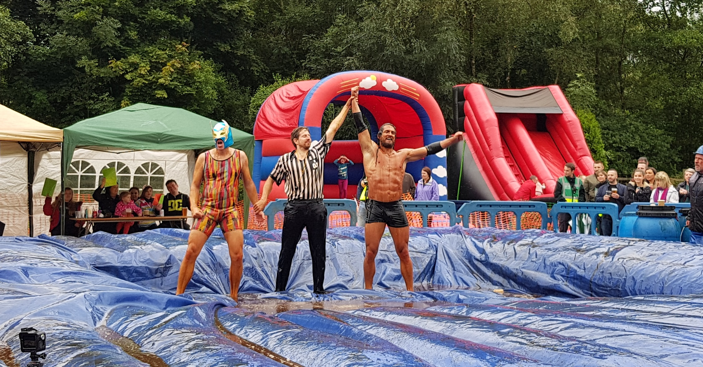Gravy Wrestling 2018 - Mud Man Evil Punisher 3