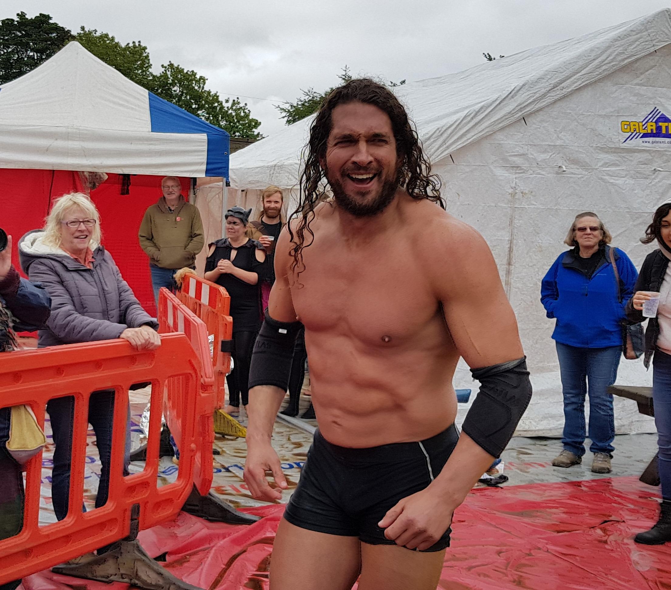 Gravy Wrestling 2018 - Mud Man Joel