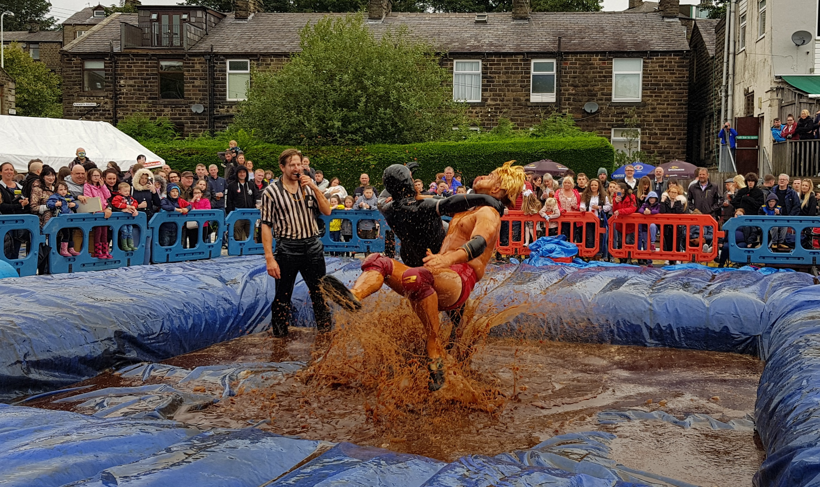 Gravy Wrestling 2018 - Natures Gravy All Black Pudding 3