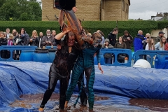 Gravy Wrestling 2018 - Bat Girl Blue Dab a dee