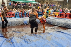 Gravy Wrestling 2018 - Cruella de gravy and Britains next top muffin 6