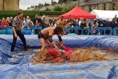 Gravy Wrestling 2018 - Mud Man Incredibly Slippy