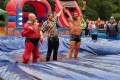 Gravy Wrestling 2018 - Mud man incredibly slippy 7