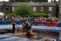 Gravy Wrestling 2018 - fatman and the all black pudding