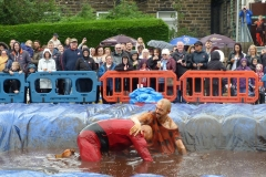 Gravy Wrestling 2018 - incredibly slippy and superdaddy 1