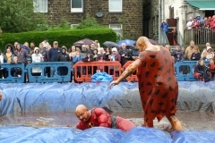 Gravy Wrestling 2018 - incredibly slippy and superdaddy